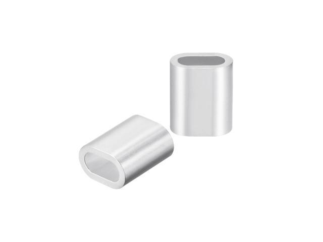 """7//32/"""" 25 Aluminum Sleeves for Wire Rope Cable"""