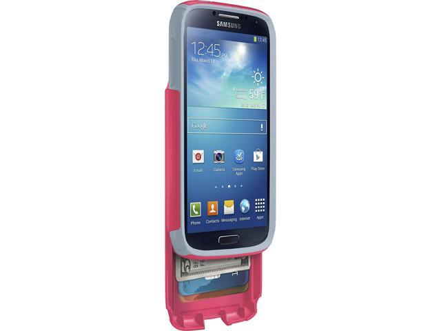 buy online 551e6 72479 OtterBox Commuter Series Wallet Case for Samsung Galaxy S4 - Retail  Packaging - Pink/Gray (Discontinued by Manufacturer) - Newegg.com