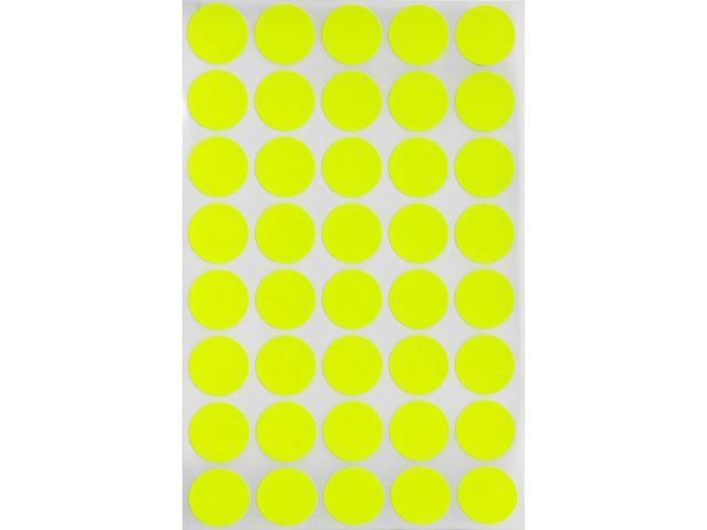 """BLACK SELF ADHESIVE 3//4/"""" Round Coding Inventory Labels Dots Stickers 17mm"""