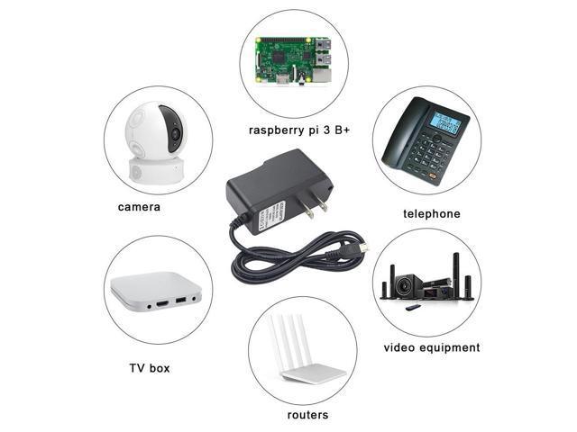 Power Adapter Raspberry Pi 3 5 V 3A DC Power Supply EU US UK AU Charger  Micro USB Port For RPI 3 For Nvidia Jetson Nano - Newegg com