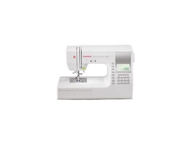Singer 9960 Quantum Stylist 600 Stitch Computerized Sewing Machine with  Extension Table - Newegg com