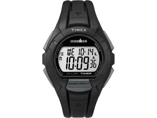 9be0f7bf5 TIMEX IRONMAN 10 LAP BLACK - Newegg.com