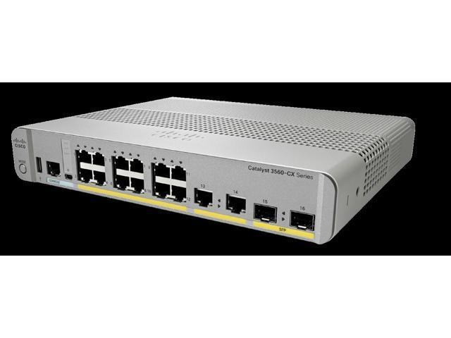 Cisco 3560CX-8TC-S Layer 3 Switch - 8 Ports - Manageable - 2 x Expansion  Slots - 10/100/1000Base-T, 1000Base-X - Uplink Port - 2 x SFP Slots - 3  Layer