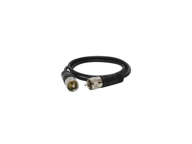 RoadPro RP-8X18CL 18/' Clear CB Antenna Mini-8 Coax Cable with P.. Free Shipping