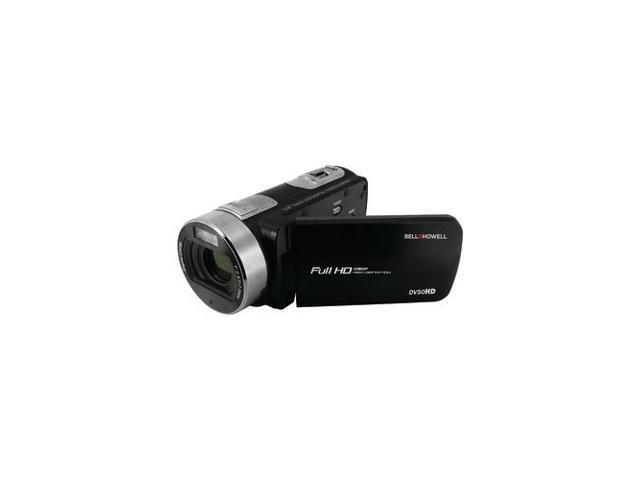 Bell+Howell DV50HD-BK 20 0-Megapixel 1080p DV50HD Fun Flix Camcorder  (Black) - Newegg com