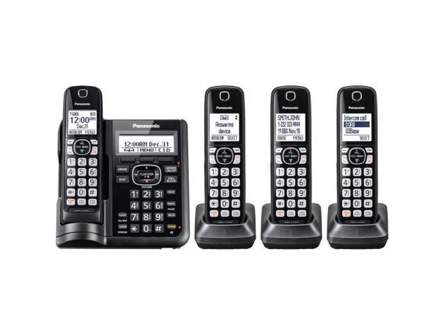 Panasonic KX-TG3760 DECT 6.0 Link2Cell Cordless Phone Digital Answer Machine