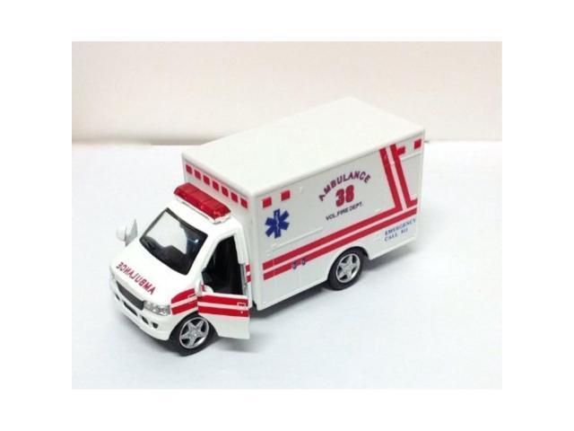 rescue team ambulance, white kinsmart 5259d 5