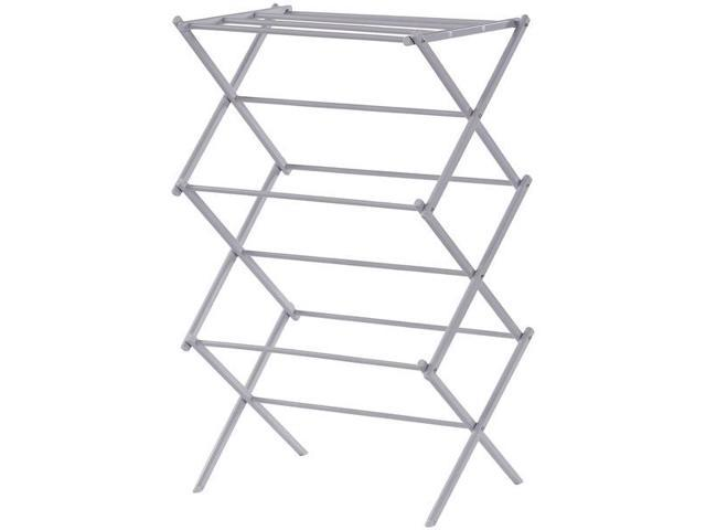 006 Compact Folding Laundry Drying Rack