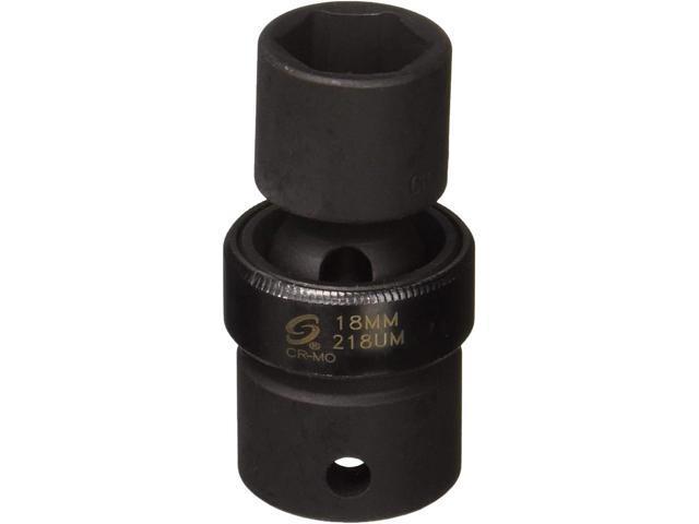 "18mm Universal Impact Socket Sunex 218UM 1//2/"" Dr"