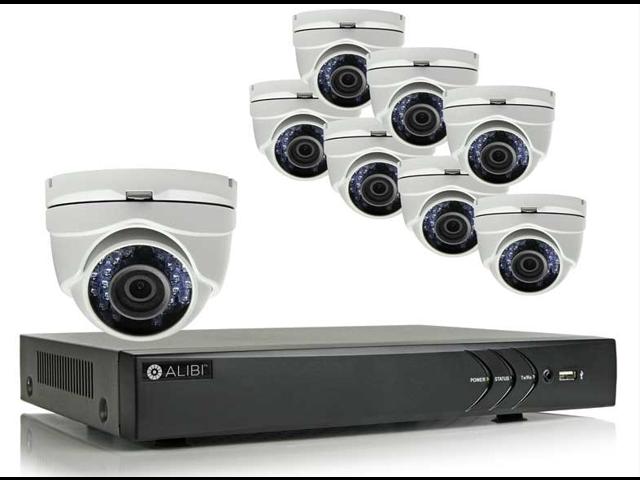 Alibi 8 Camera 1 3 Megapixel 65 Ir Hd Tvi Hybrid Outdoor