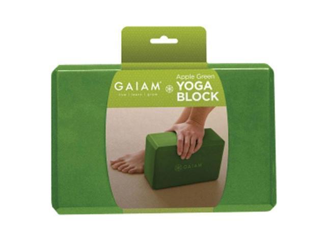 Gaiam 05 59186 Restore Yoga Block Apple Green Newegg Com
