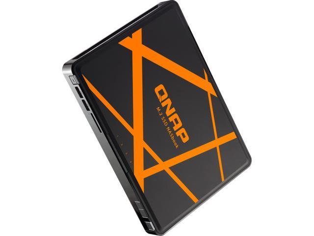 QNAP TBS-453A 4-Bay M 2 NASbook Enclosure - Newegg com