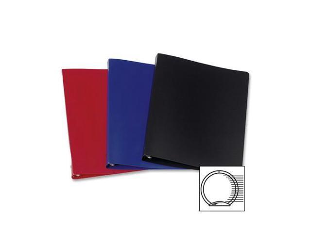 Acco 38613 Presstex Round Ring Binder 1 Cap Letter Size Dark Blue 1//EA