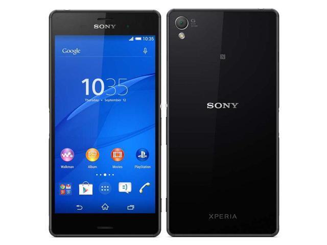 SONY Xperia Z3 D6603 4G LTE Black 20MP 5 2