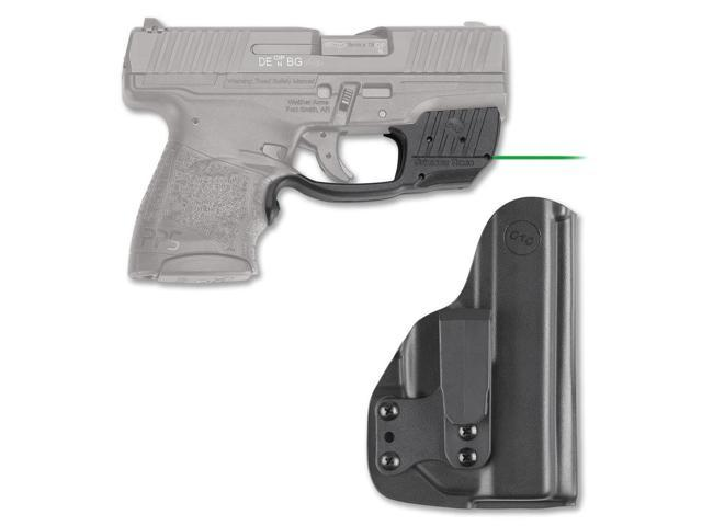 Crimson Trace Green Laserguard with Blade-Tech Holster for Walther PPS M2  Pistol - Newegg com