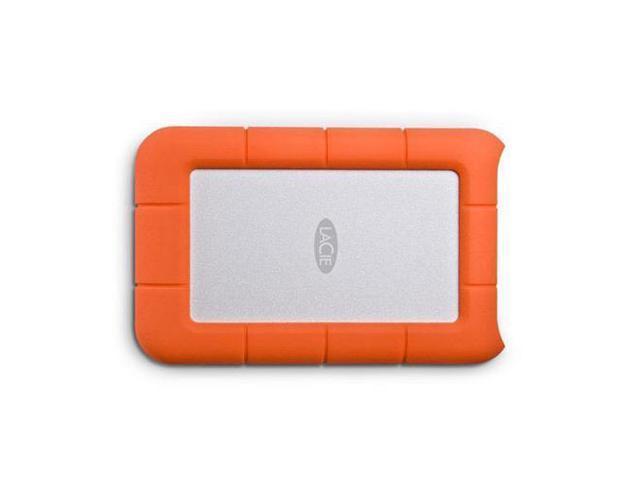 Lacie 2tb Rugged Mini External Hard Drive Usb 3 0 Model Lac9000298 Orange Newegg Com