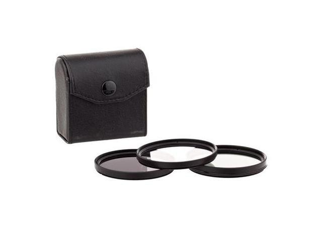 with Pouch with Ultra Violet ProOptic 52mm Digital Essentials Filter Kit UV Circular Polarizer and Neutral Density 2 ND2 Filters