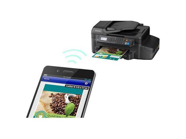 Epson Expression ET-4550 C11CE71201 4800 x 1200 DPI Wireless Color  All-in-One Inkjet Printer - Newegg ca