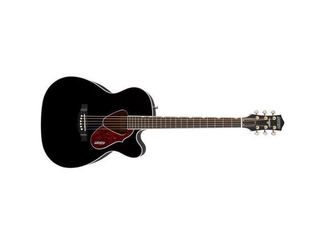 Gretsch Acoustic Guitars >> Gretsch Acoustic Collection G5013ce Rancher Jr Acoustic Guitars Black Newegg Com
