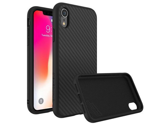 Rhinoshield Solidsuit Protective Case For Iphone Xr Carbon Black Ssa0108549 Newegg Com