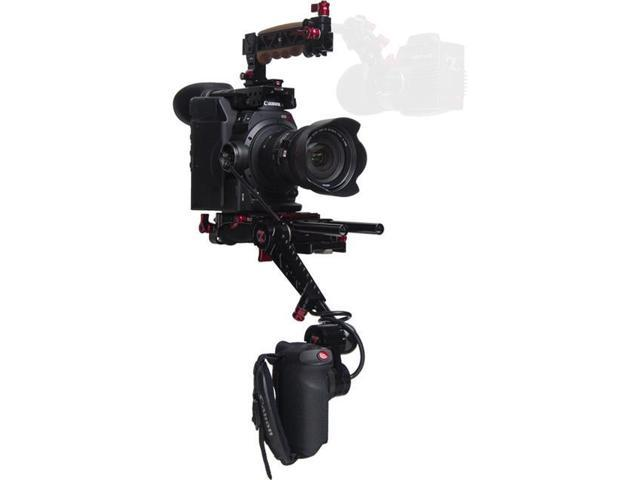 Zacuto Recoil Pro V2 Rig, Canon C300 Mark II Camera & Gratical HD/Eye  Viewfinder - Newegg com