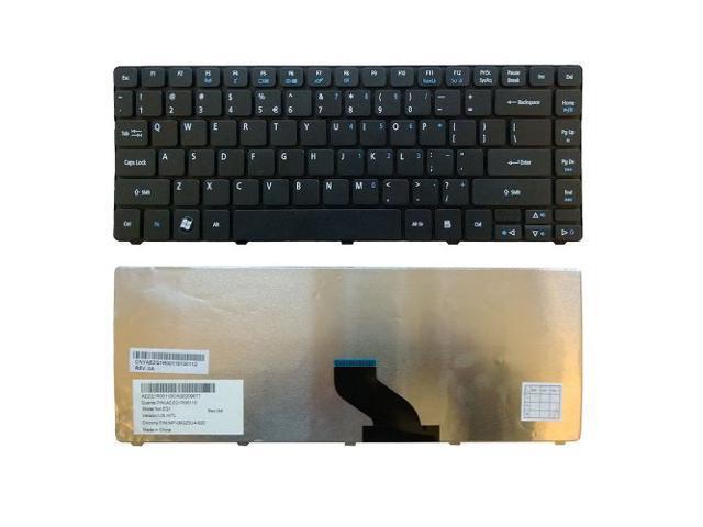 Laptop Keyboard Compatible for Gateway PK130QG2B00 PK130QG2A00 9Z.N3M82.E1D NSK-AUE1D NK.I1717.05C KNK.I1713.04G NK.I1717.01Q NK.I1713.01R 9Z.N3M82.G1D US Layout Black Color
