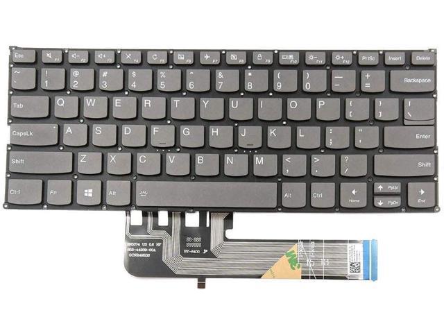 New Us Gray English Laptop Keyboard Without Palmrest For Lenovo Ideapad 120s 11iap Type 81a4 Newegg Com