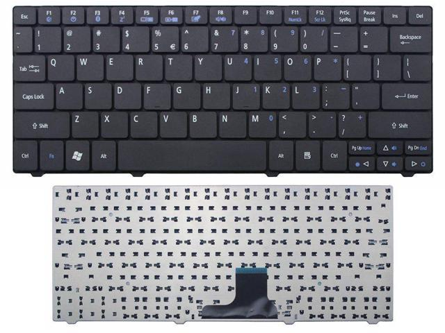 New Laptop Keyboard Replacement for Packard Bell Dot m m-a m-u US Layout Black Color