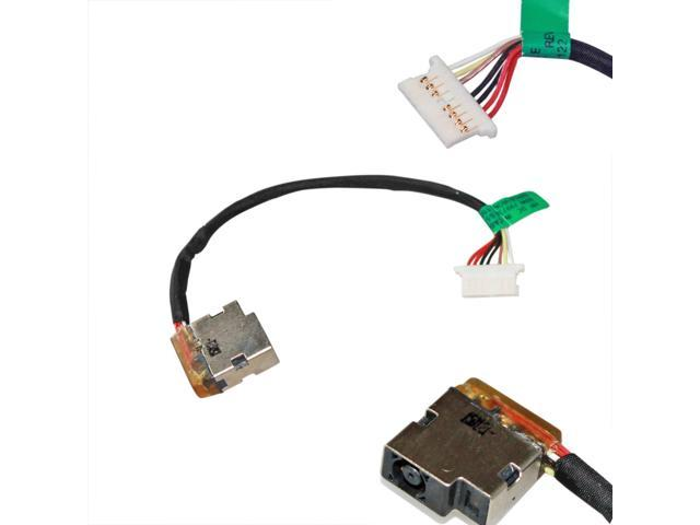 New Ac Dc-in Power Jack w/Cable Harness Connector Socket for HP 15-AC Harness Master Wiring Systems Philippines on