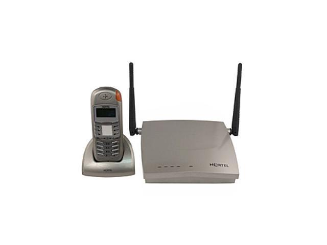 Nortel T7406E 24GHz Digital Cordless Phone With Base Station Grey