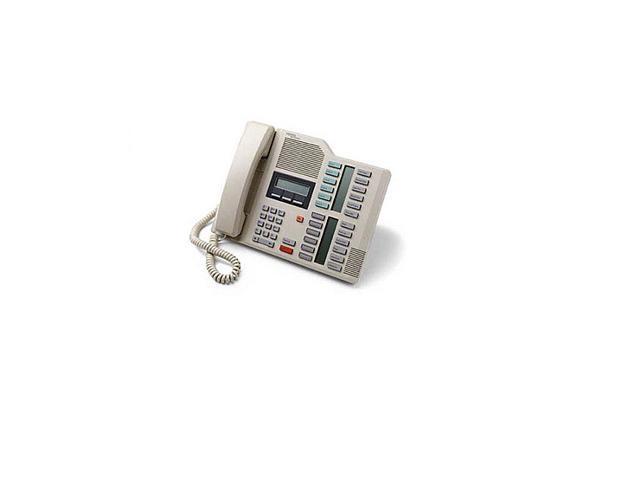 Refurbished: Nortel M7324 Executive Telephone NT8B40 (Ash) Phone