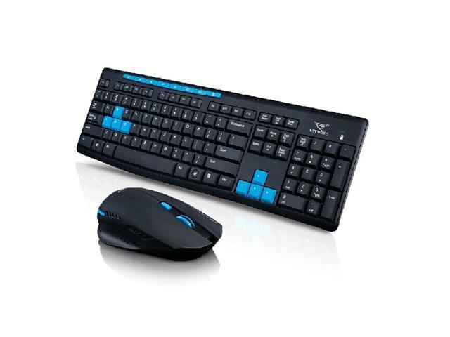 Corn Multimedia Wireless Gaming Keyboard And Mouse Combo With Usb Rf
