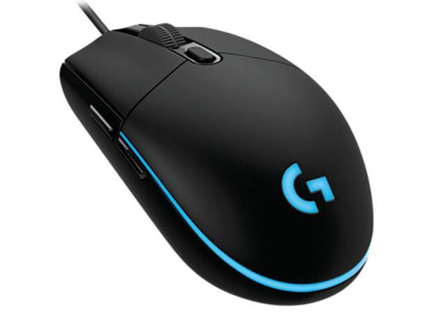 Logitech G102 (G203) IC PRODIGY 8000DPI 1000Hz Polling Rate 16 8M Color RGB  Gaming Mouse - Black - Newegg com