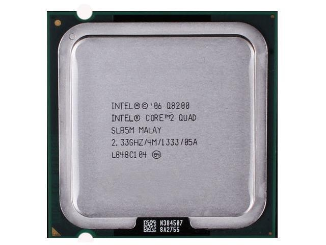 Intel Core Q8200 SLB5M 2.33 GHz 4M Cache 2 Quad Core CPU LGA775 Processor