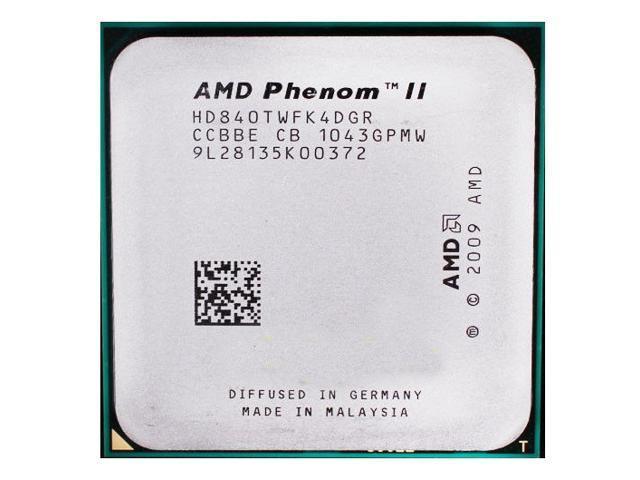 Amd Phenom Ii X4 840t 2 9ghz 95w Quad Core Processor Hd840twfk4dgr Socket Am3 Desktop Cpu Newegg Com