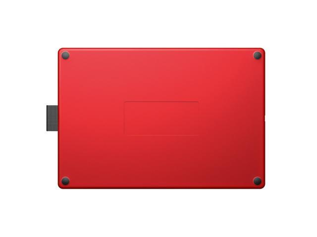 WACOM One By CTL-672/K0-CX Medium 8 5-inch x 5 3-inch Graphic Tablet Pen  Pressure Levels 2048 (Red and Black) - Newegg ca