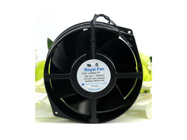 Royal Fan 17255 UT655D-TP(B56) 200V For Inverter Cooling Fanuc Cooling Fan  FANUC ROBOTICS SPINDLE MOTOR COVER - Newegg com