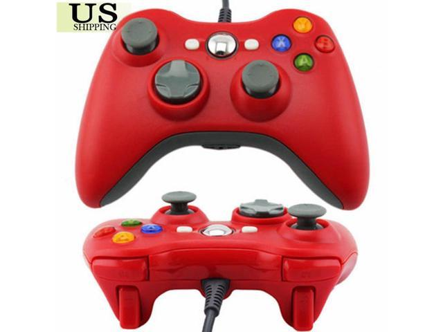 CORN Red USB Wired Controller For PC & Microsoft Xbox 360 Remote Gamepad US  Shipping - Newegg com