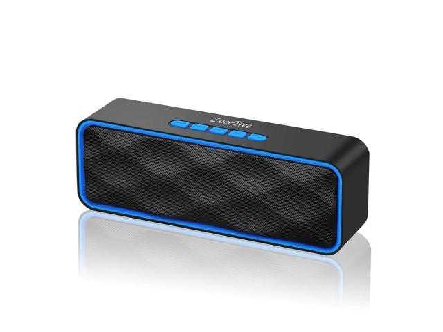 Built-in Microphone Waterproof Bluetooth Wireless Speaker for Travel Party Home Outdoor Bluetooth Speakers Portable Wireless Speakers with Bluetooth+EDR Loud Stereo 10W Dual Drivers