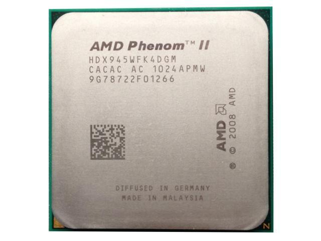 Amd Phenom Ii X4 945 3 0ghz 4x512 Kb L2 Cache Socket Am3 95w Quad Core Processor Desktop Cpu Newegg Com