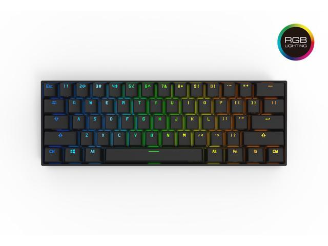 07206fc2f12 Anne Pro 2 Mechanical Keyboard 60% RGB Wired/ Wireless Bluetooth 4.0 PBT  Type-
