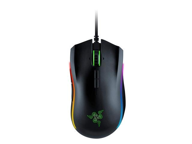 Razer Mamba Elite: 5G True 16,000 DPI Optical Sensor - 9 Programmable Buttons - Ergonomic Form Factory - Powered Razer Chroma - Esports Gaming Mouse