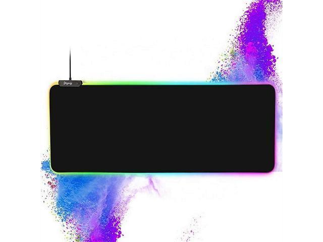 LED Lighting RGB Large Gaming Mouse Pad Comfortable Playing Keypad 31.5/'/'X11.8/'/'