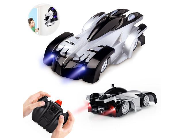 Cars For Kids >> Air Rc Cars For Kids Remote Control Car Toys Wall Climbing Dual Mode 360 Rotating Stunt Rechargeable High Speed Vehicle With Led Lights