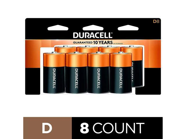 CopperTop D Alkaline Batteries with recloseable Package All-Purpose D Battery for Household and Business Duracell Long Lasting 24 Count
