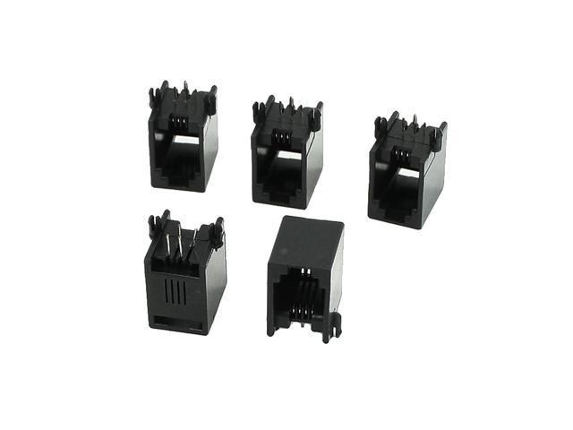 rj22 connector wiring global bargains right angle pins rj9 rj10 rj22 4p4c phone handset  pins rj9 rj10 rj22 4p4c phone handset