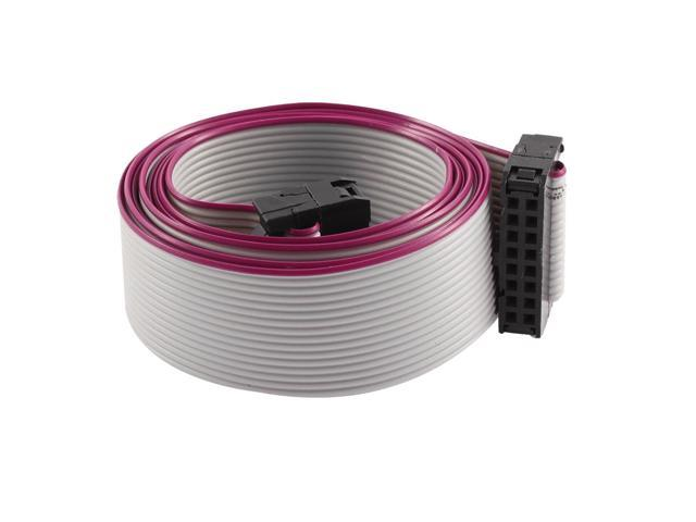 FC16P 100cm 16Pin Hard Drive Extension Wire Flat Ribbon Cable for ...