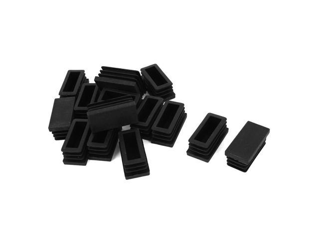 sourcing map 63mm Outer Dia Plastic Round Tubing Tube Insert Blanking End Caps 5Pcs