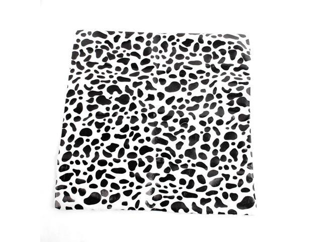 66bfcf7f7fe Black White Cow Printed Soft Plush Home Car Seat Cushion Pad Sofa Pillow  Cover