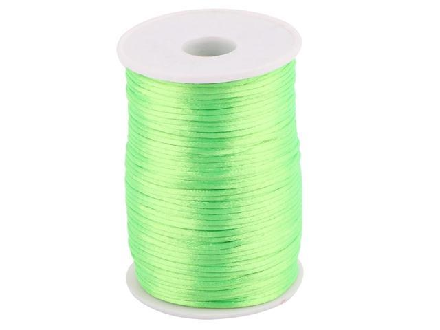 Nylon Chinese Knot Crafts DIY Braided Cord Light Green 2 5mm Dia 109 Yards  - Newegg com
